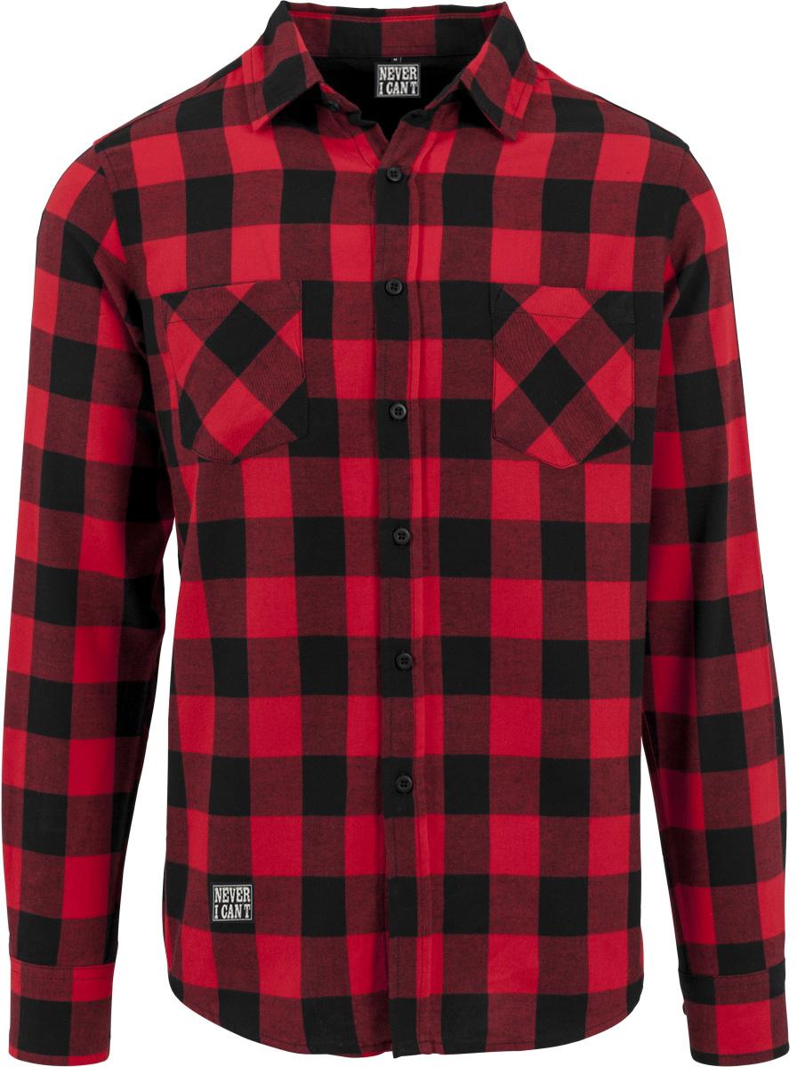 Compra camisa azul a cuadros negro online al por mayor de